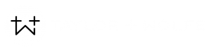 Taylor Wolfe Marketing Logo Reversed